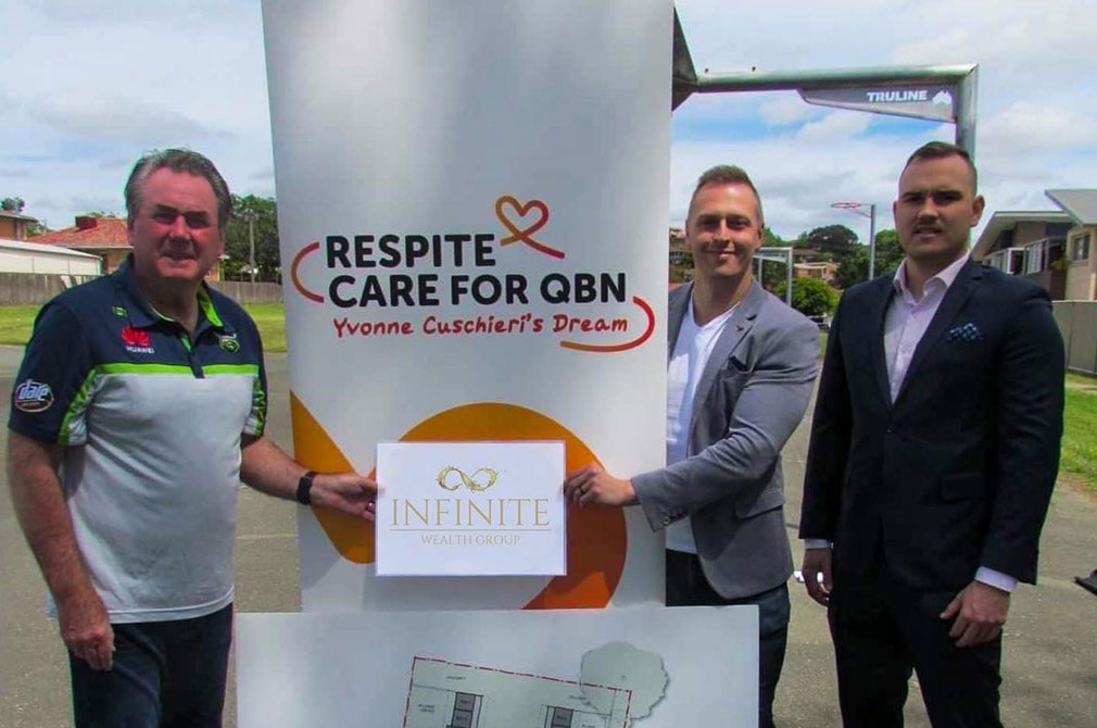 Infinite Wealth Group Partners with Respite Care for QBN